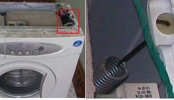 Пружины в стиральной машине