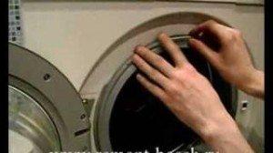 Снять манжету стиральной машины