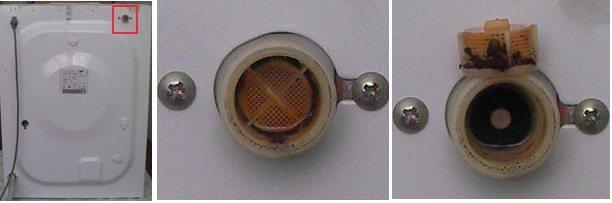 Фильтр впускного клапана стиральной машины