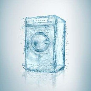 Слишком много или мало воды в стиральной машине
