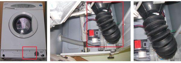 Проверить патрубок стиральной машины