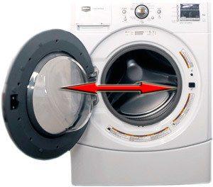 Как разблокировать стиральную машину - открыть дверцу (люк)