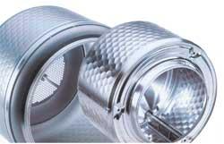 Материал бака стиральной машины: пластик, нержавеющая сталь и др.