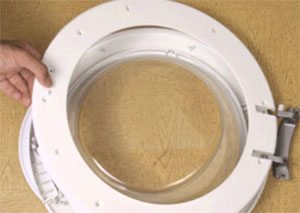 Разборка люка стиральной машины