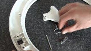 Замена ручки дверцы люка стиральной машины своими руками!