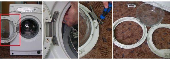 Замена ручки стиральной машины