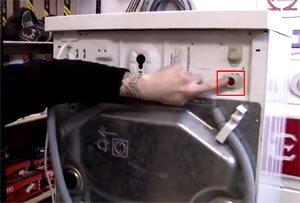 Клапан для стиральной машины где находится