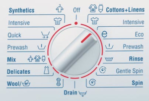 Знаки на стиральной машине