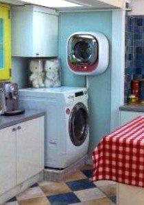 Стиральные машины на кухне