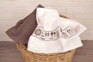 Как стирать кухонные полотенца — пятнам нет!