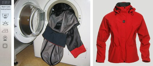 Мембранная куртка в стиральной машине