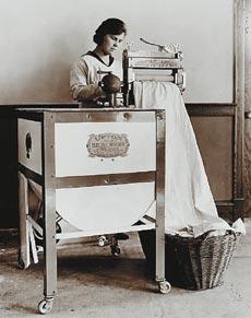 Старинная стиральная машина
