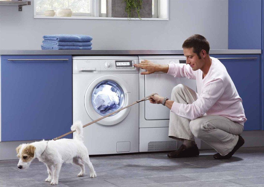 Горизонтальная загрузка стиральной машины