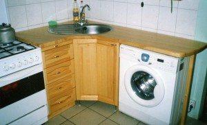 Маленькая встраиваемая стиральная машина