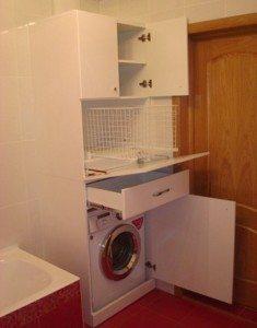 Шкаф со стиральной машиной
