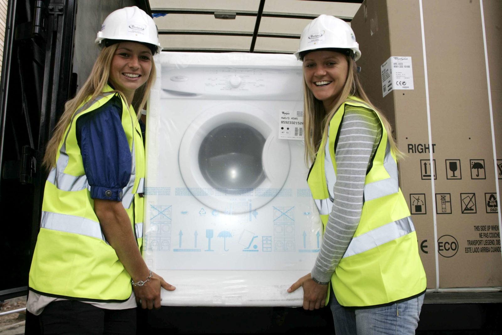 Как перевозить стиральную машину - советы мастера