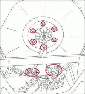 Замена подшипника стиральной машины индезит своими руками