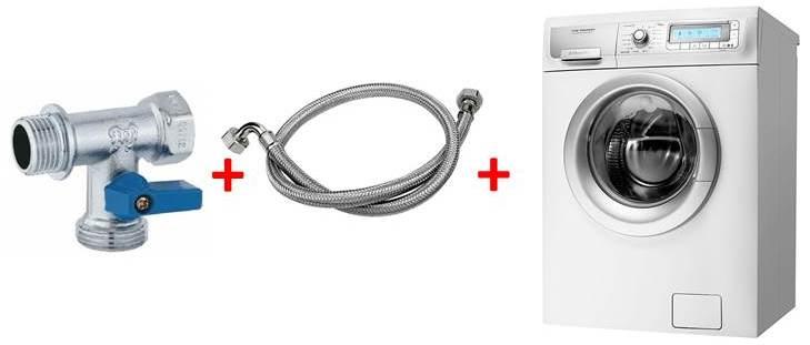Выбираем и устанавливаем кран-тройник для стиральной машины