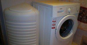 монтаж стиральной машины без воды