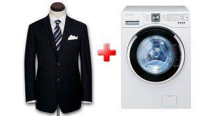 как стирать пиджак в машине