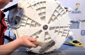 разбор барабана стиральной машины