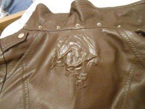 как стирать кожаную куртку