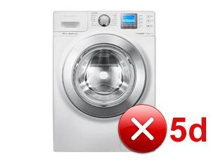 Что означает ошибка 5d на стиральной машине Самсунг?