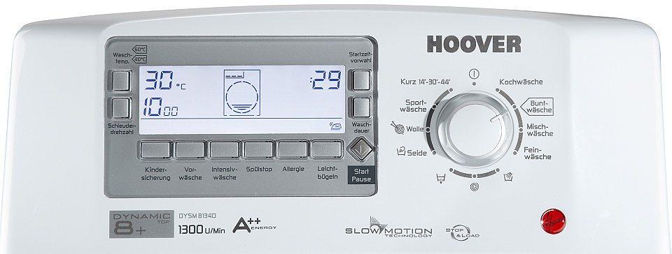 панель стиральной машины Hoover