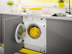 Встраиваемые стиральные машины - как установить под столешницу