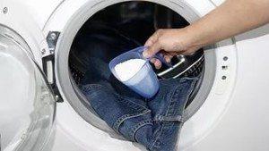 как стирать джинсы в машине