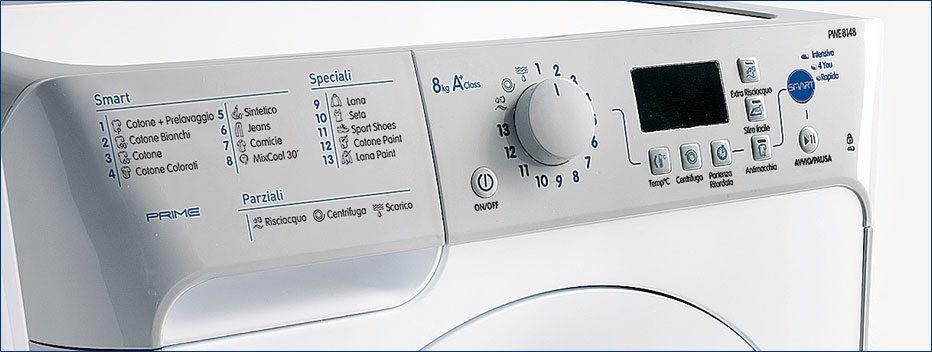 панель стиральной машины Индезит