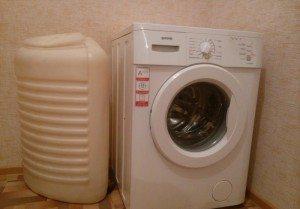 Обзор стиральных машин с баком для воды