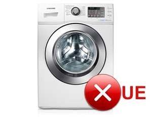 Ошибка ue в стиральной машине Samsung