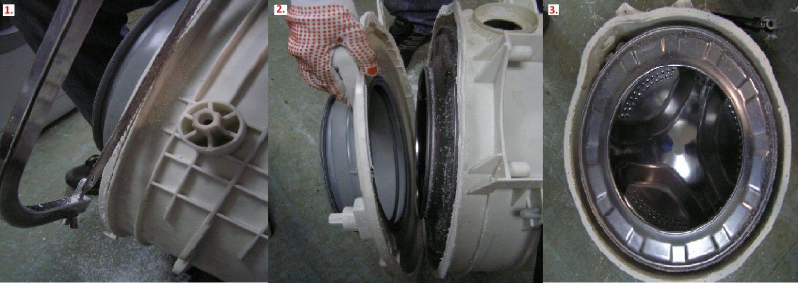 поломка бака стиральной машины
