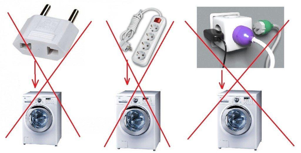 подключение стиральной машинки к сети