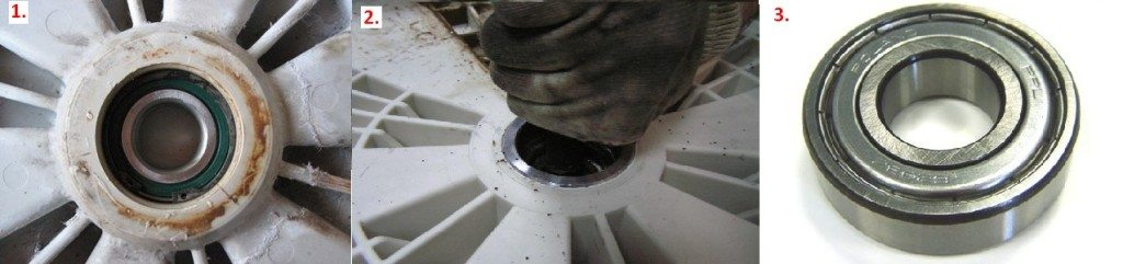 разбор бака стиральной машины