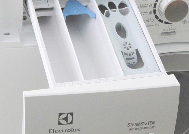 порошкоприемник стиральной машины Electrolux