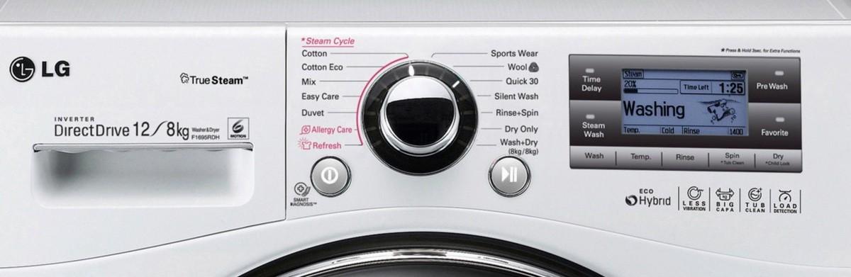 стиральная машина LG F1695RDH