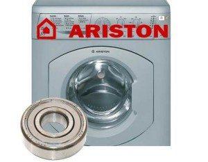 замена подшипников в машинке Аристон