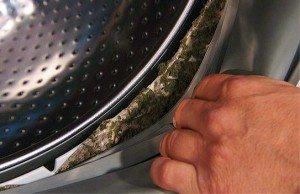 чистка манжеты барабана в стиральной машине
