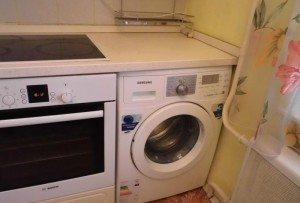 стиральная машина под столешницу