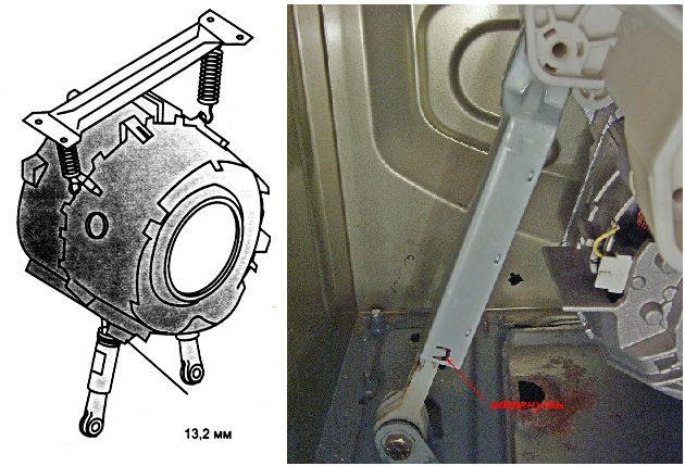 амортизаторы стиральной машины Бош