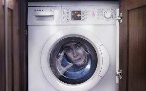 Как открыть стиральную машину во время стирки