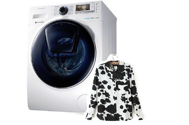 После стирки в стиральной машине появляются пятна