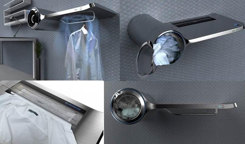 стиральная машина Соло с функцией глажки