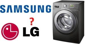 Стиральная машина Samsung и LG