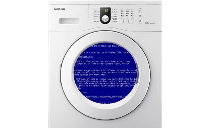 Что делать, если зависла стиральная машина?