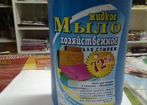 Жидкое хозяйственное мыло для стиральной машины