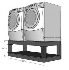 подиум под стиральную машину