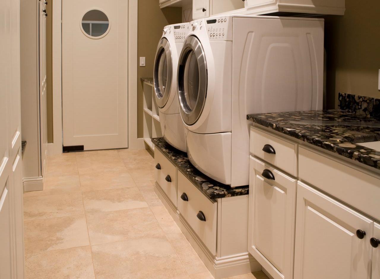 Подиум под стиральную машинку своими руками